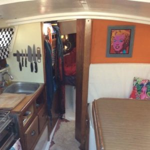 Jaguar 27 Yacht Boat Renovation