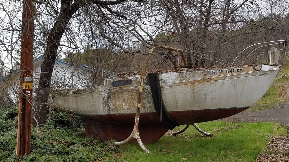 Old Relic - Boat Scrap