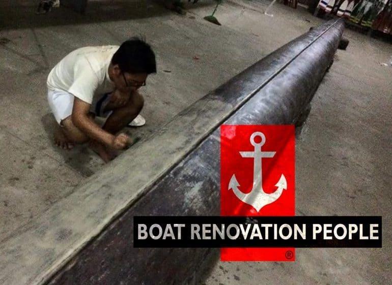 burmese boat builder