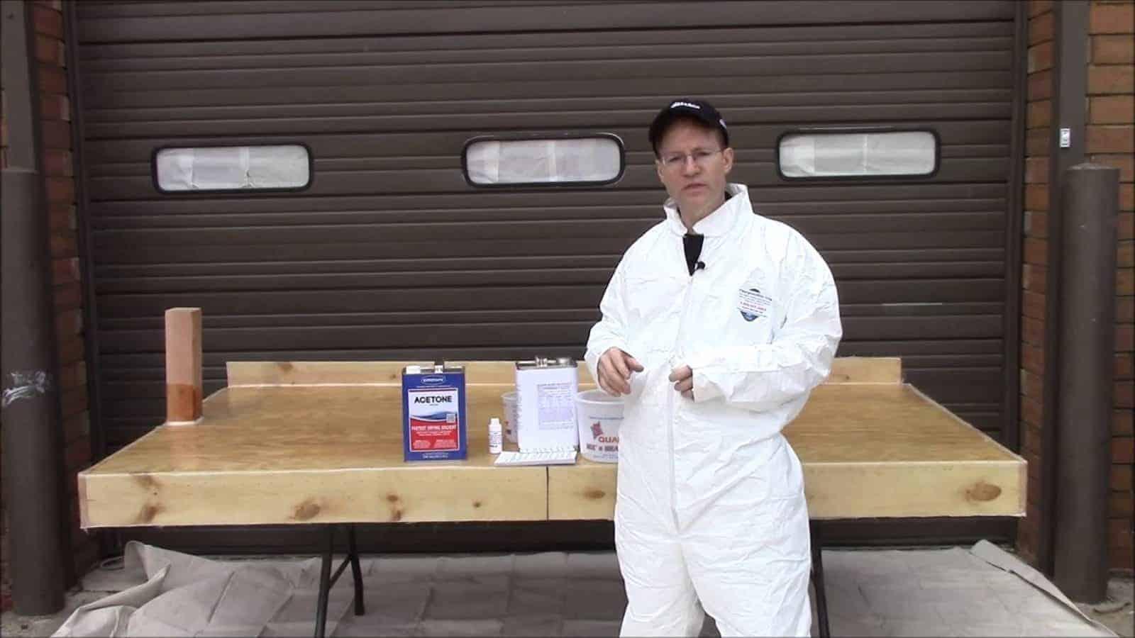 How To Fiberglass A Marine Ply Deck