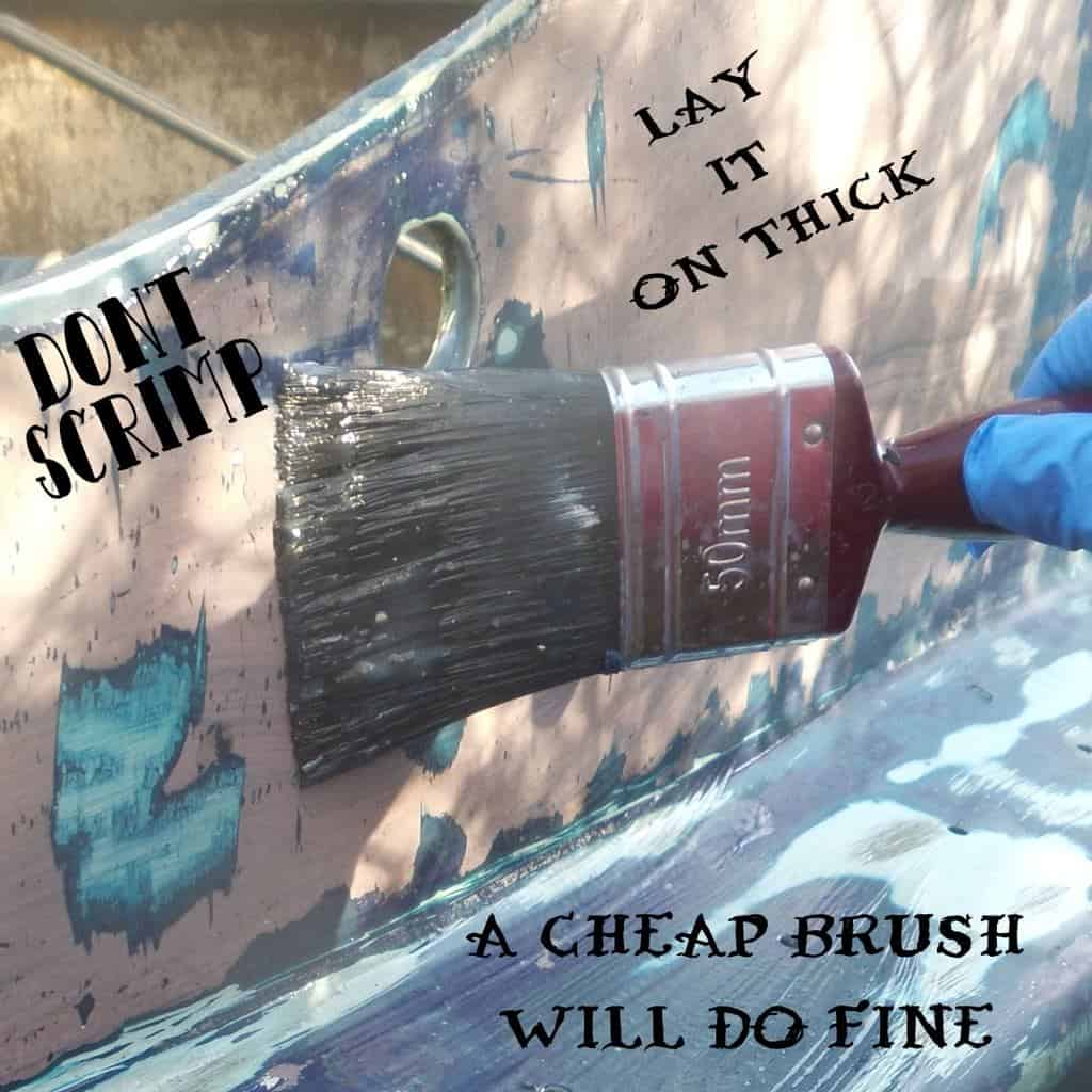 A Cheap Brush Will Work