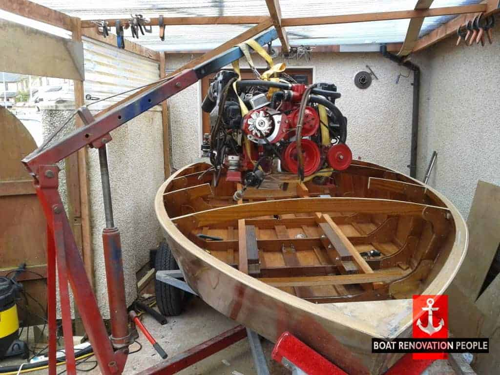 Fergal S Boat Building The Glen L Cracker Box Boat