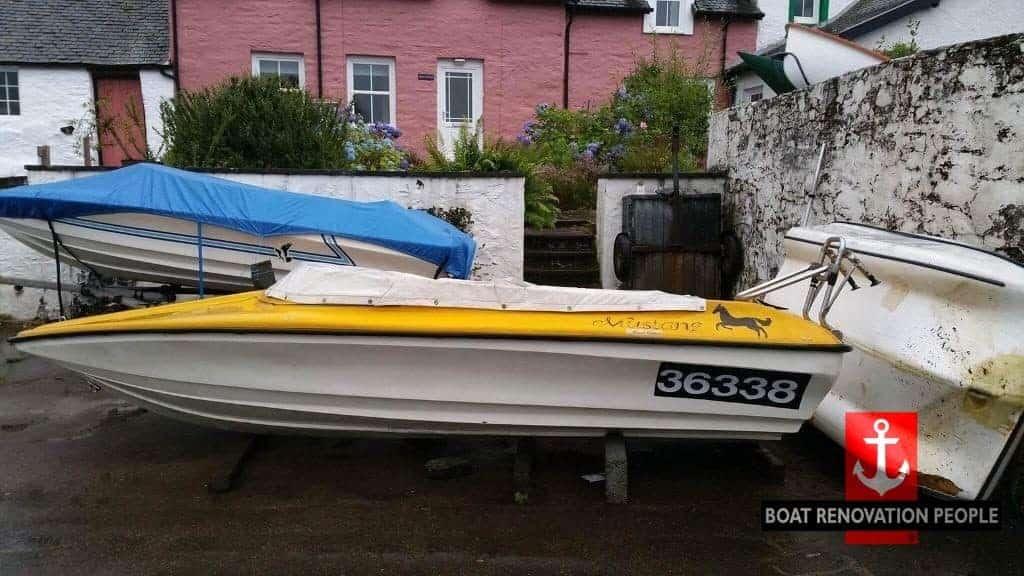 Mustang 14 Speedboat >> Shakespeare 14 Speedboat Sold Boat Renovation People