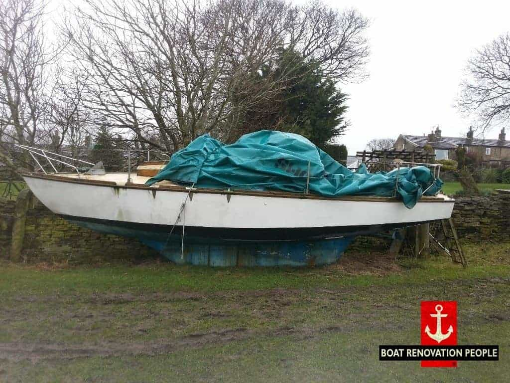 Shearwater 23 Yacht Sold Boat Renovation People
