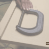 Making A Straight Cut With A Handsaw