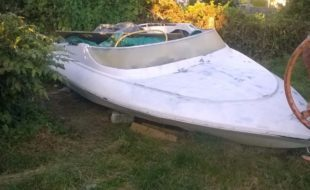 Photograph of a project boat speedboat.