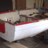Fiberglass Rowing Boat Restoration by Dale Skidmore