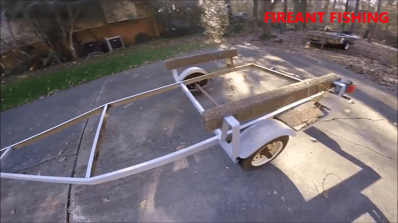 Sanding a trailer