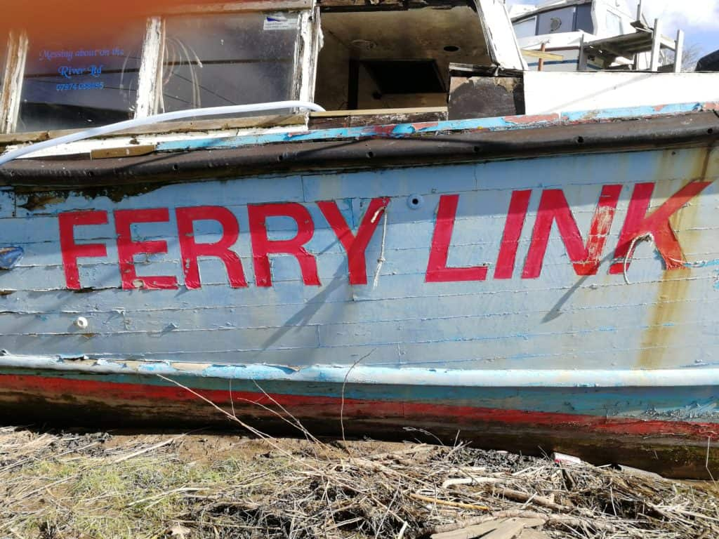 Abandoned Boats – Ferry Link