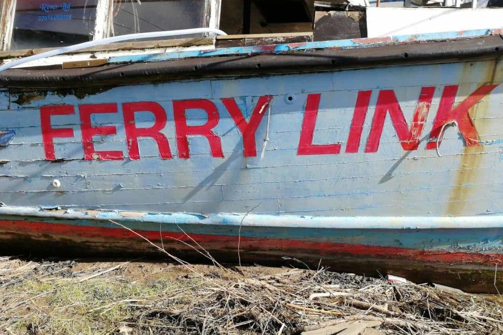 Abondend Boat - Bristol Ferry Link