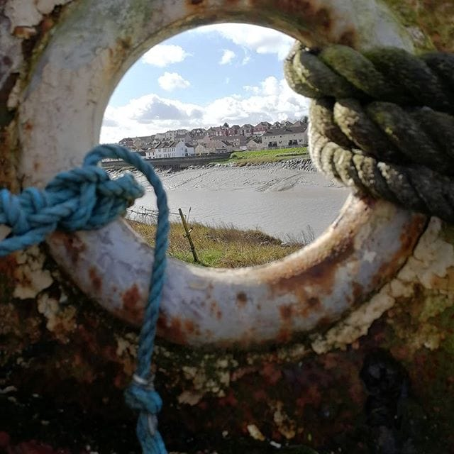 Porthole View Of Pill