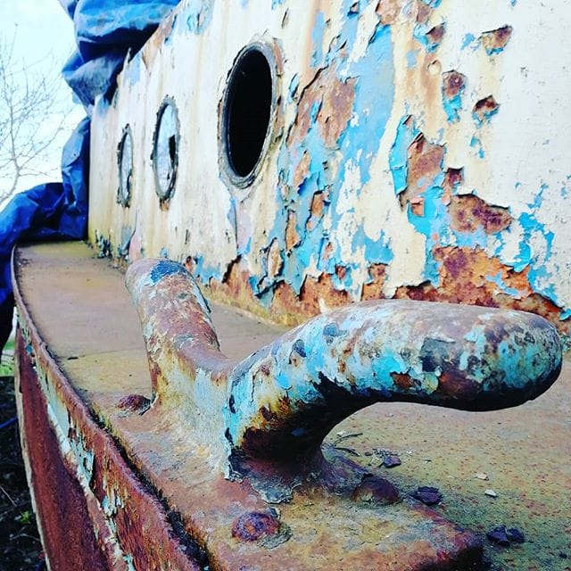 Rusted Steel Cleat