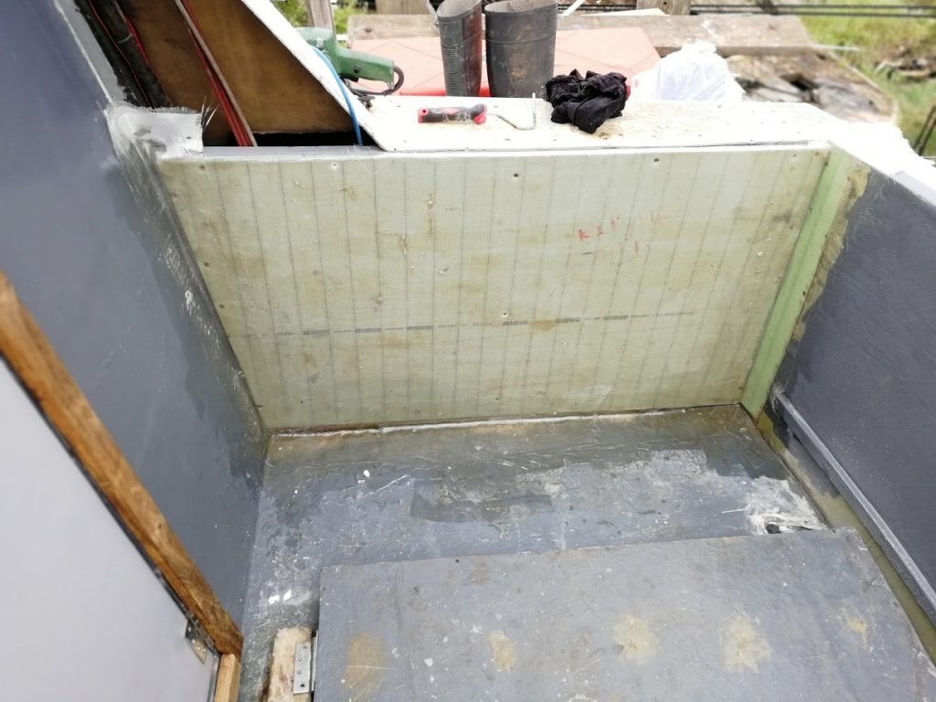 Armaform Panels Being Used As Walls.