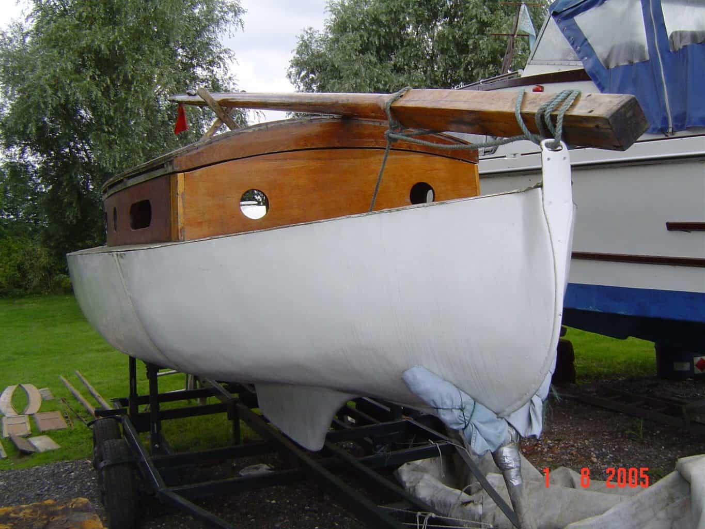 1930s Mahogany Broads Cruiser