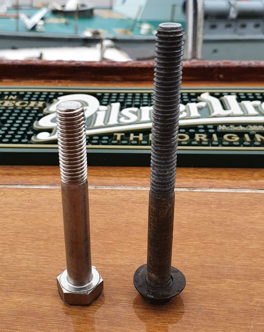 High Tensile Steel vs Stainless Steel Bolts