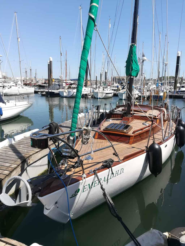 Szmaragd II In A Marina