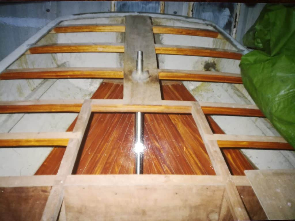 Woodwork On A Yacht